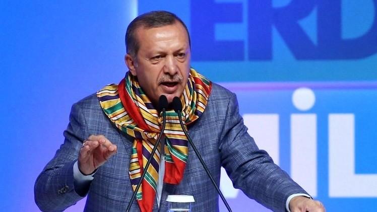اردوغان يكثف معركته ضد رجل الدين الإسلامي غولن قبل الانتخابات الرئاسية