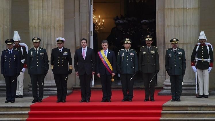 سانتوس يؤدي اليمين الدستورية رئيسا لكولومبيا ويحذر متمردي فارك