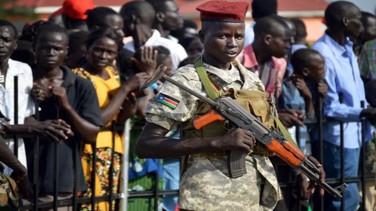 هيومن رايتس ووتش تدعو الى حظر السلاح في جنوب السودان