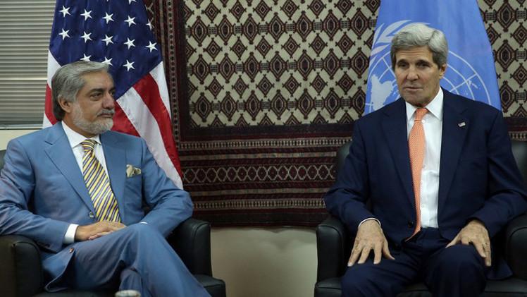 مرشحا الرئاسة الأفغانية يتفقان على تشكيل حكومة وحدة وطنية