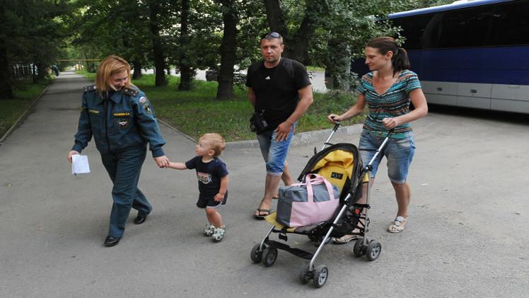 وزارة الطوارئ الروسية: أكثر من 48 ألف لاجئ من أوكرانيا