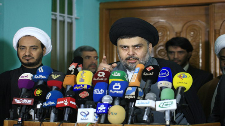 مقتدى الصدر: مستعدون للدفاع عن بغداد