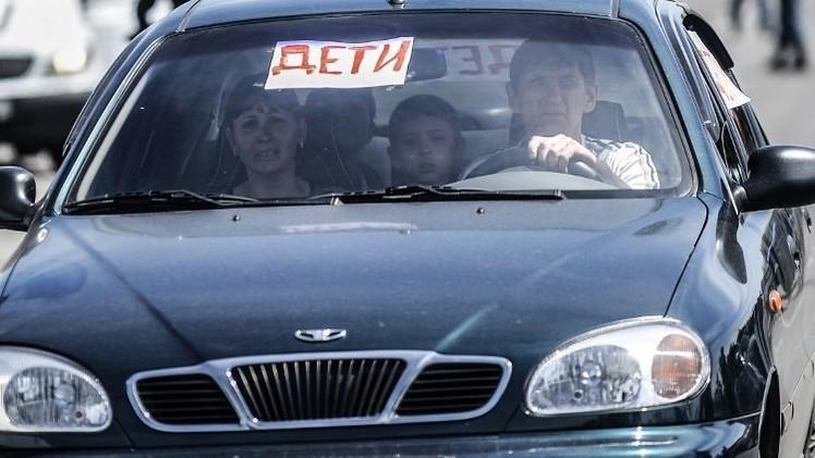 الخارجية الأوكرانية تصف سحب الأطفال الأوكرانيين المرضى من لوغانسك إلى روسيا بالجريمة