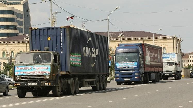بيسكوف: موسكو تعمل على تخفيف حدة الكارثة الإنسانية في شرق أوكرانيا