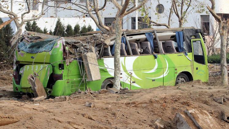 مصرع 44 شخصا بانقلاب حافلة سياحية في التبت