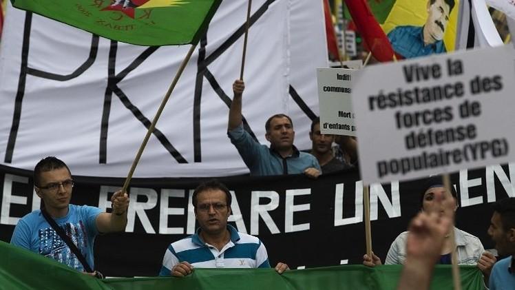 متظاهرون في باريس ينددون بمجازر