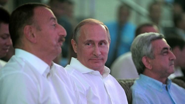 بوتين: أذربيجان وأرمينيا تسعيان لتسوية النزاع في إقليم قره باغ بالطرق السلمية