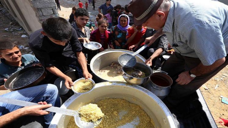 20 ألفا من الايزيديين العراقيين يفرون من جبل سنجار