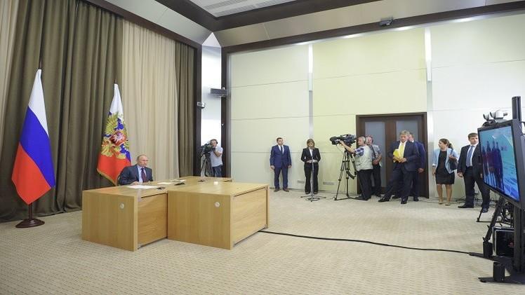 بوتين يوعز ببدء أعمال التنقيب عن النفط في بحر كارا