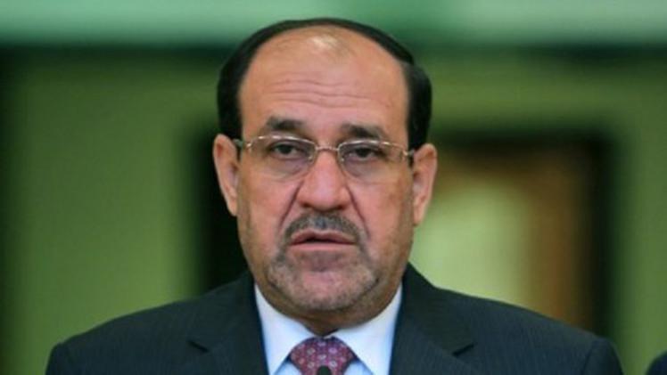 انتشار أمني كثيف في بغداد والمالكي يتهم الرئيس الجديد بخرق الدستور