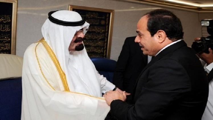 السيسي يبحث مع العاهل السعودي رزمة من القضايا الإقليمية والدولية