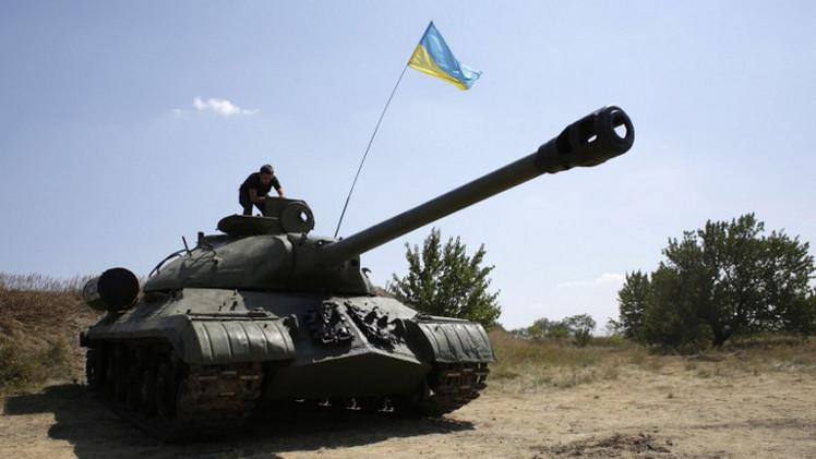مقتل 568 عسكريا أوكرانيا بشرق البلاد منذ بدء العملية الأمنية في المنطقة