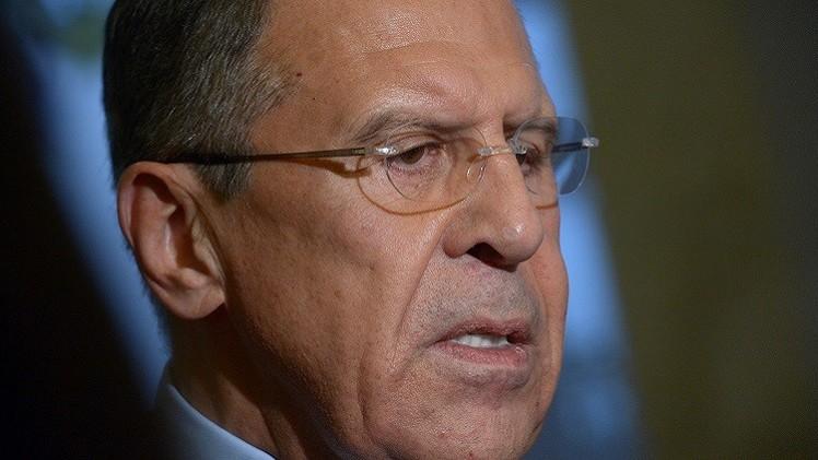 لافروف: موسكو تدعم بغداد وجهود الدول الأخرى التي تساعدها على تسوية الوضع داخل البلاد