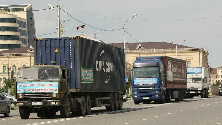 الكرملين: قافلة معونات إنسانية بصدد الانطلاق نحو أوكرانيا
