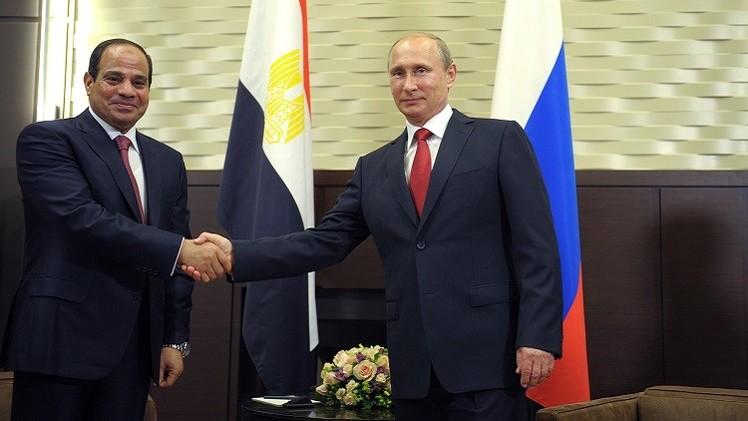 بوتين: روسيا تدعم مصر في حربها على الإرهاب
