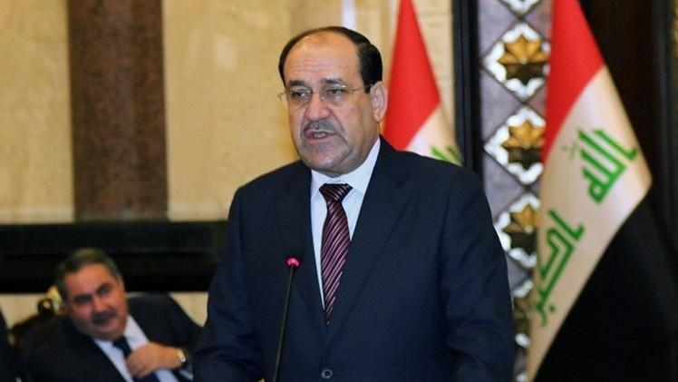 المالكي يحذر من استغلال الأزمة السياسة في العراق من قبل مسلحي