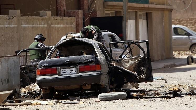 قتلى وجرحى بتفجير سيارتين مفخختين في منطقتي الكرادة والزعفرانية ببغداد