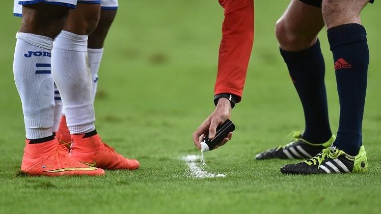 الاتحاد الألماني سيستخدم رشاش كأس العالم في البوندسليغا