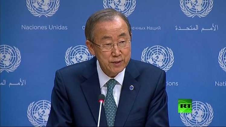 بان كي مون يدعو إلى محاسبة المسؤولين عن مقتل المدنيين في غزة