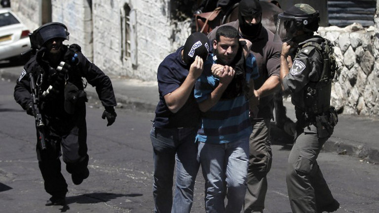 إسرائيل تعتقل نحو 60 فلسطينيا في القدس ومحيطها