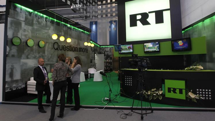 قناة RT التلفزيونية تتأهل للمرة الثالثة إلى نهائي مسابقة جائزة إيمي الدولية