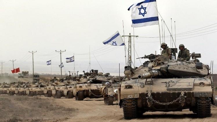 الجيش الإسرائيلي يحشد قواته على حدود غزة