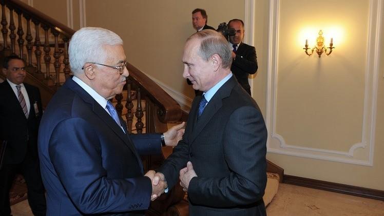بوتين يبحث مع عباس الأوضاع في قطاع غزة وحوله