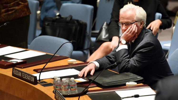 تشوركين: مجلس الأمن بدأ يدرك خطورة الوضع الإنساني شرقي أوكرانيا