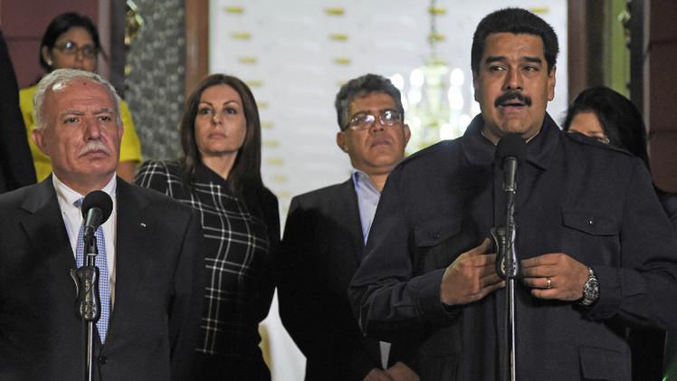 رئيس فنزويلا يدعو إسرائيل للكف عن إبادة الفلسطينيين