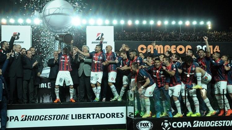 سان لورينز بطلا لكأس الليبرتادوريس لأول مرة في تاريخه