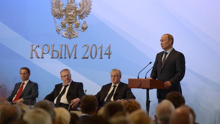 بوتين: الحظر الروسي سيدعم المنتجين المحليين ويفتح السوق لشركاء جدد