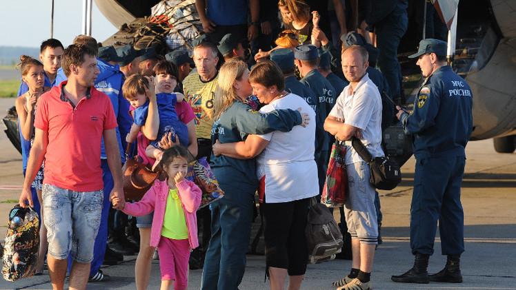 نحو 80 ألف أوكراني يطلبون اللجوء أو اللجوء المؤقت في روسيا