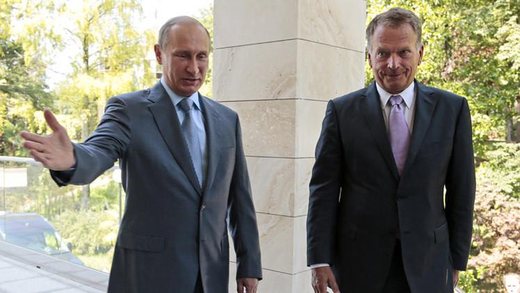 بوتين: روسيا وفنلندا قلقتان من العمليات العسكرية والكارثة الانسانية في أوكرانيا
