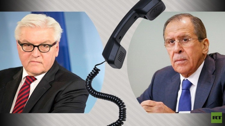 لافروف وشتاينماير يدعوان إلى تأمين إيصال المعونات إلى شرق أوكرانيا