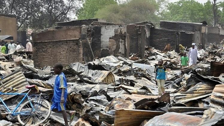 اختطاف عشرات الصبية والرجال في هجوم على قرية شمال شرق نيجيريا