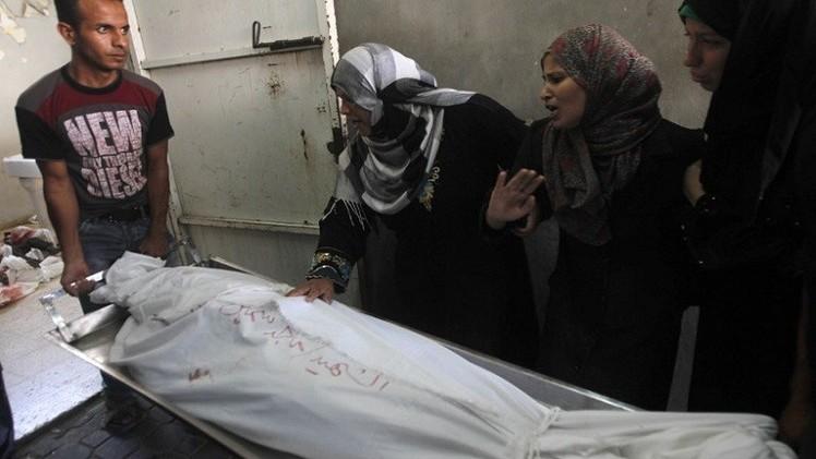 ارتفاع حصيلة قتلى الهجوم الإسرائيلي على غزة إلى 1981 بوفاة شخصين متأثرين بجراحهما