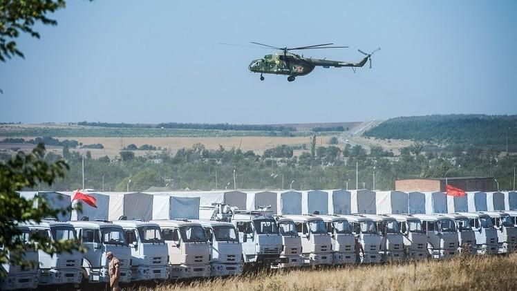 البنتاغون: موسكو تؤكد عدم وجود جنود في القافلة الإنسانية الروسية