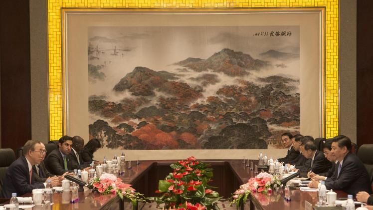 الصين تدعو إلى تفادي كارثة إنسانية في أوكرانيا