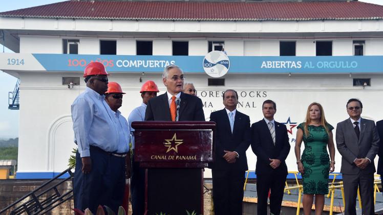 احتفالات بالذكرى الـ 100 لفتح قناة بنما (فيديو)