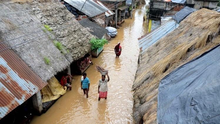 مقتل العشرات بسبب الأمطار الغزيرة في الهند ونيبال