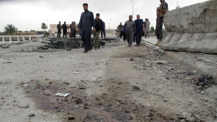 مقتل وإصابة 13 شخصا بعبوة ناسفة في سامراء