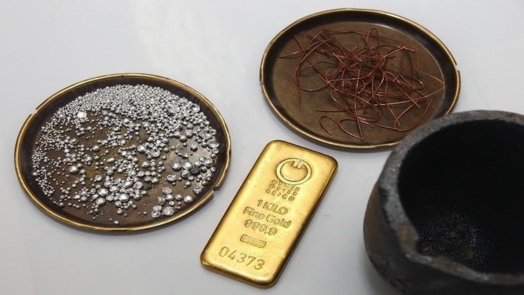 الذهب يقلص خسائره بفعل توترات أوكرانيا