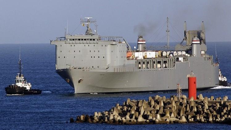 الولايات المتحدة تؤكد تدمير جميع الأسلحة الكيميائية السورية في البحر