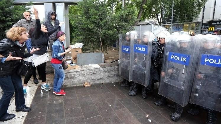 مقتل شاب كردي في اشتباكات بين المتظاهرين والشرطة في تركيا