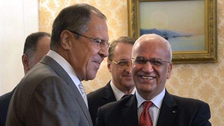 لافروف: المفاوضات الفلسطينية الإسرائيلية بمشاركة مصر يجب أن تفضي لهدنة طويلة