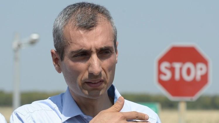 رئيس بعثة المراقبين الأوروبيين: لم نسجل نقل أسلحة عبر الحدود الروسية الأوكرانية