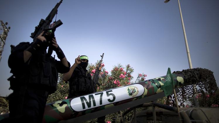 كتائب القسام تعلن قصف محطة الغاز الإسرائيلية قبالة سواحل غزة بصاروخين
