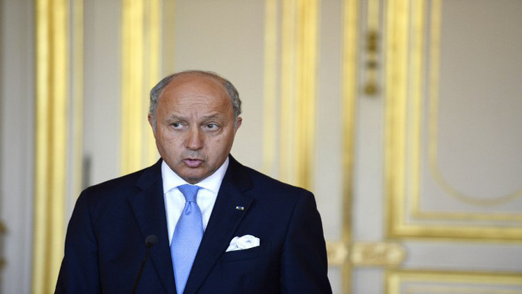 فابيوس يدعو جميع الدول العربية وإيران للتوحد من أجل مواجهة خطر
