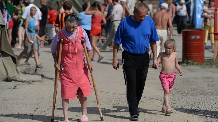 الأمم المتحدة: قفزة في عدد النازحين داخل أوكرانيا