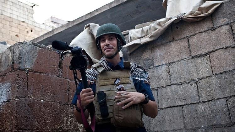 موسكو مستاءة من نحر الصحفي الأمريكي على يد